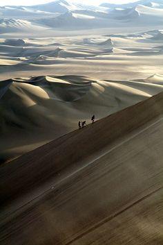 The Nazca Desert, Peru.