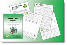Green Court Claims Environmental Science Lesson freebie - great for teaching students to be critical thinkers
