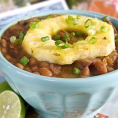 Beans Hawaiian