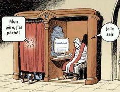 ... funni stuff, laugh, religious humor, sin, social media, facebook, fathers, socialmedia, confess