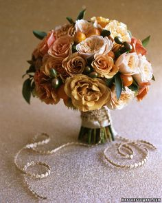 Orange Hued Bouquet