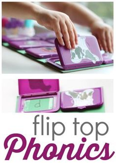 Idea of the Week: Flip Top Phonics (Or Anything) Game for Kids - pinned by @PediaStaff – Please Visit  ht.ly/63sNt for all our pediatric therapy pins
