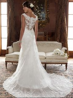 Casablanca wedding dress...lovely