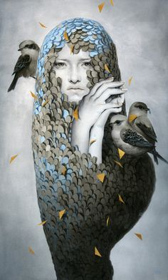 Nestled Within a Pallid Disposition by Tran Nguyen