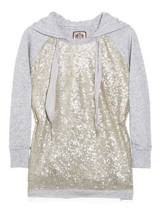 Sparkle hoodie? Yes please!