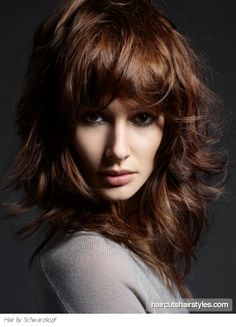 Fab Long Layered Hairstyle