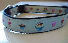 Happy Birthday No 1 Dog Collar Made to Order  by katiesk9kollars, $11.00