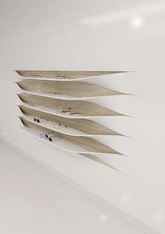 The wall shelves by Rui Silva, via Behance