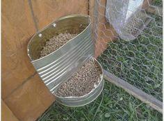 Skyview Acres: DIY rabbit feeders