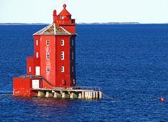 Kjeungskjaer Fyr Lighthouse~1880~ Norway
