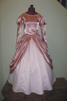 Adult Little Mermaid Ariel Pink Ball Gown Custom Costume - Neverbug Creations