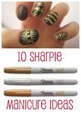 sharpie nail art - Google Search