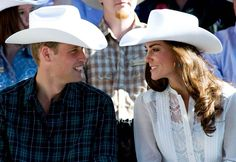 William and Kate @ Calgary Stampede in Canada