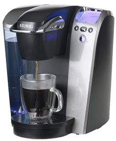 Kuerig Brewing system, brews a perfect cup of coffee, tea, hot cocoa or iced beverage in under one minute !  I love it