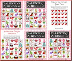 Printable Valentine Bingo!