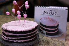 Hands up if you like cake? Hands up if you like to eat cake for breakfast?! We are baking our way through the gorgeous book from San Francisco's famed Miette Bakery. Check out the first challenge; Tomboy Cake! http://bit.ly/x3Ys4Z