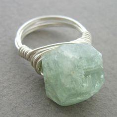 Aquamarine ring.  I need it.