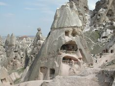 Carve your niche out like they did Cappadocia region, Turkey