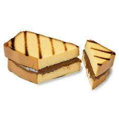 Grilled Chocolate-Hazelnut-Pound Cake Sandwiches Coastalliving.com