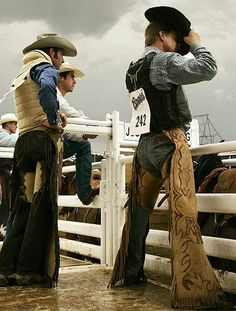 Those rodeo cowboys...