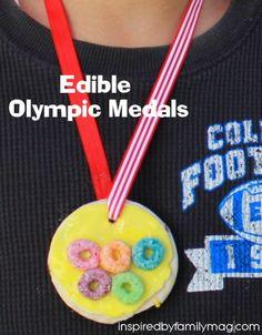edible olympic medal