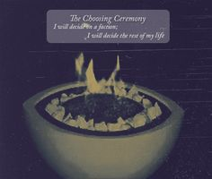 choosing ceremony
