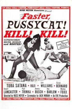 Faster, Pussycat! Kill! Kill!, 1965 - USA poster