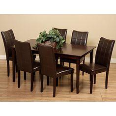 Caden 7 Piece Dining Set With 62 Table Pocono House