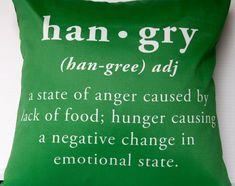 i get hangry easily!!