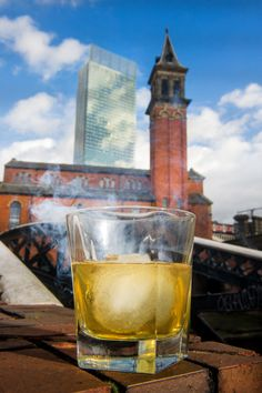 Manchester's Honey-Smoked Old Fashioned Cocktail ready to drink! Want to try it at a bar or make it at home? Find out how: http://www.pinterest.com/visitengland/great-english-cocktail-recipes/ #morecity
