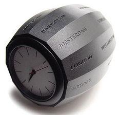World Time Clock by Charlotte van der Waals