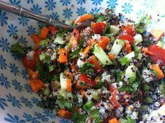 My new go-to Quinua salad! | Aspiring Vegan