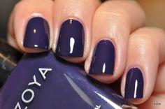 Zoya Pinta. very wearable navy blue