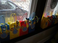 Mickey Mouse Clubhouse Mousekatools gift bags