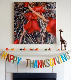 Thanksgiving felt garland #thanksgiving #holidayentertaining #thanksgiving #givingthanks #november #holidays #thanksgivingideas #thanksgivingcrafts #thankful #thanks #thanksgivingrecipes www.gmichaelsalon... #diy #crafting #recipes #forthehome #holidaydecorating #holidaydecor #harvest #autumn