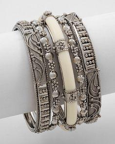 Ivory Chandini Bracelet Set