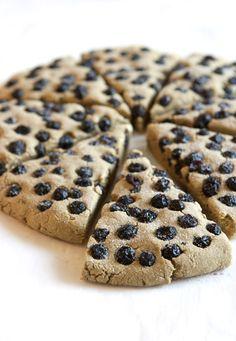 Vegan, Gluten Free Avocado Scones Recipe | FamilyFreshCooking.com