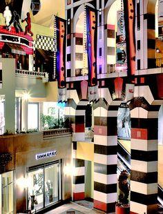 Horton Plaza Shopping Center - Downtown San Diego, California