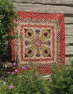 Thistle Thicket quilt by Kim Diehl from Martingale epattern