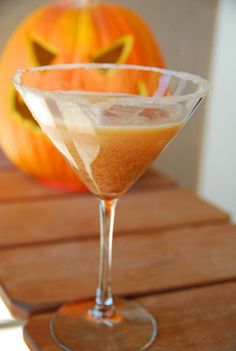 For the adults: Pumpkin martinis #BabyCenterBlog
