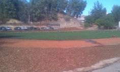 Field used for training and exercising (by inmates) at PDC-East Facility (Fire Camp)