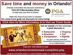 Save time and money in Orlando through the Orlando Convention Aid
