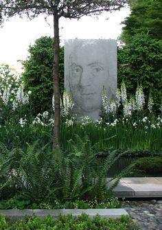 Witte tuin + Linneaus (Chelsea2007)