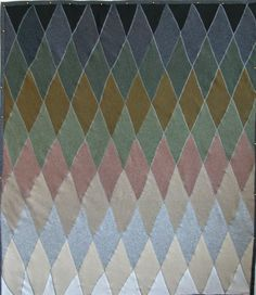 ombre argyle sweater blanket by square one studio