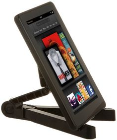 good AmazonBasics Portable Fold-Up Travel Stand for the new iPad, iPad 2, Samsung Galaxy Tab 10.1 and 7.0, Kindle Fire, Kindle Fire HD, Kindle Touch (Black)