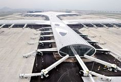New expansion of the Shenzen International Airport in China
