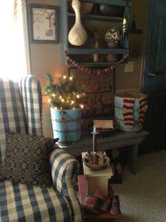 . blue christmas, wall color