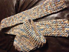 Knitting Loom hat & scarf!