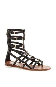 Show off that pedi with these awesome gladiator Sandals