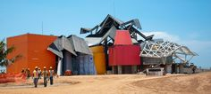 frank gehry: biomuseum in panama nearing completion
